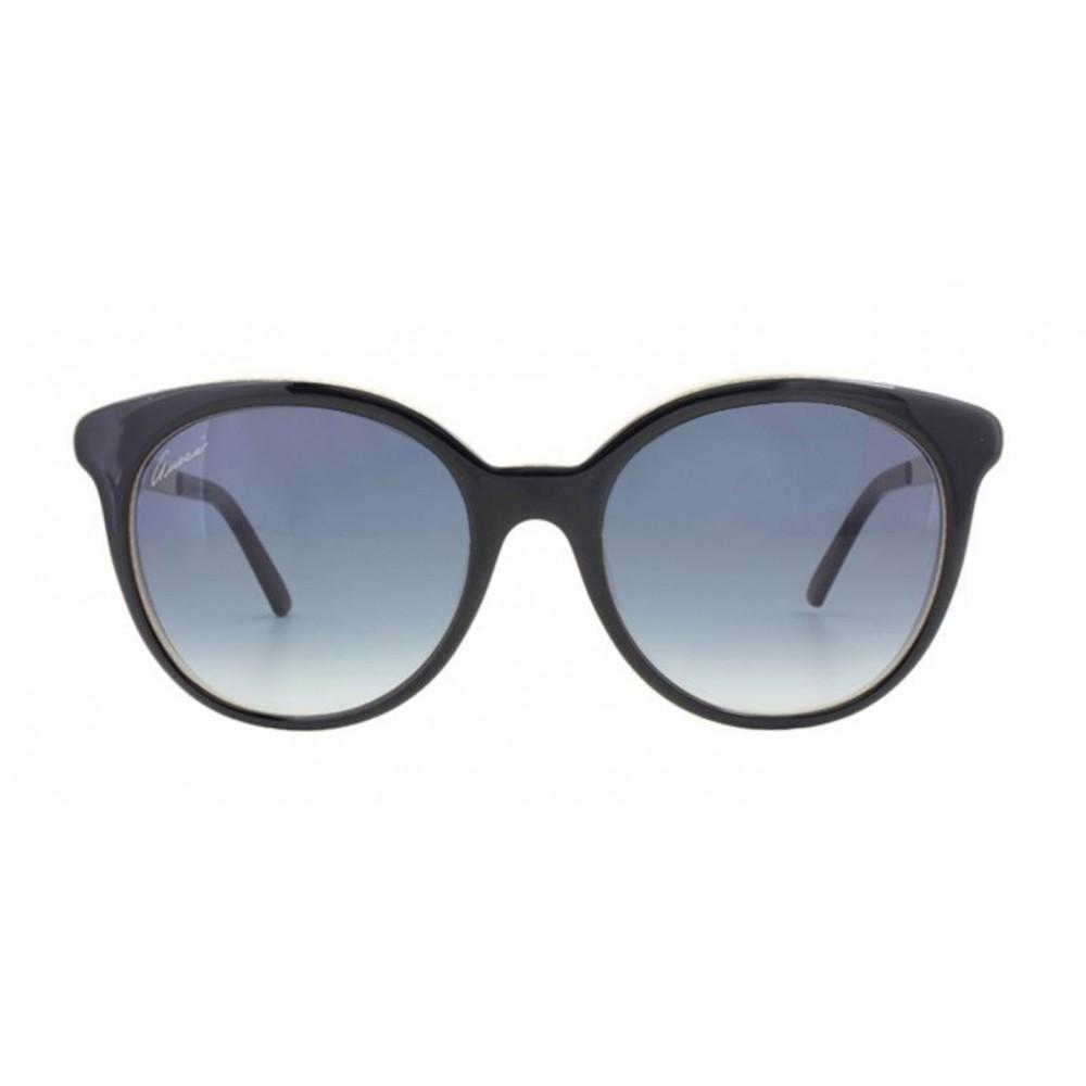 faf89a63f22 Preciosas gafas de sol al estilo que sólo Gucci nos trae. Lentes redondos  enmarcados en una forma tipo almohada