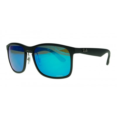 7223f3ff51 ... to a whole new level. Features a flexible nylon fiber of matt black  frame with lenses in bright blue mirrored shades that offer a high  performance ...