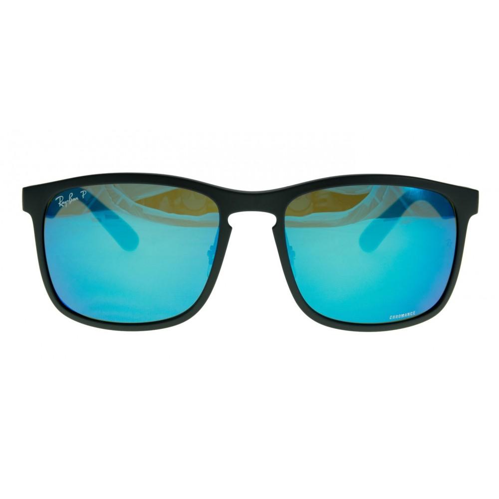 f0aa34d0a3395 Ray-Ban RB4264-601SA1 Black   Polarized Blue Mirror Chromance