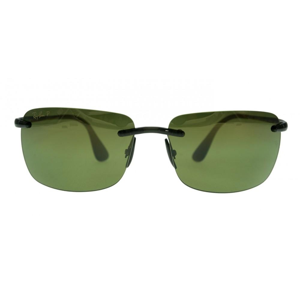 55b57dc0e1 Ray-Ban RB4255-621 6O 60 Grey   Polarized Green Mirror Chromance