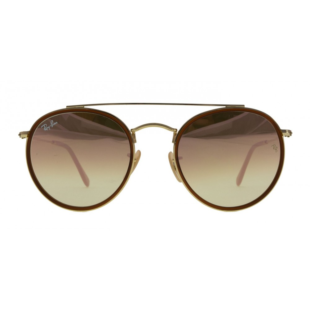 e9436ea625c The new full metal round double bridge reinvents authentic DNA design to  create an all-new Ray-Ban icon