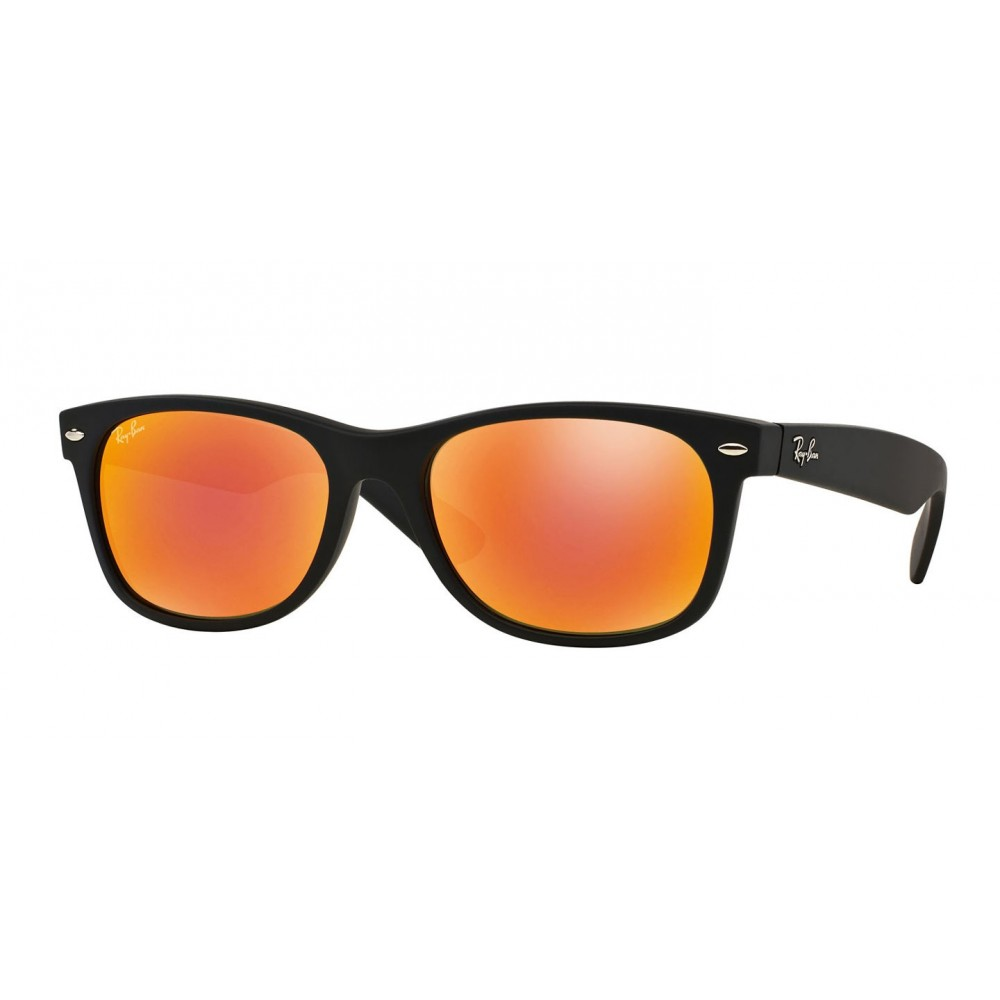 3eced71803 Ray-Ban New Wayfarer Matte Flash sunglasses are an exclusive model of the  Wayfarer family. Featuring the same style and fit as the New Wayfarer  Classic, ...