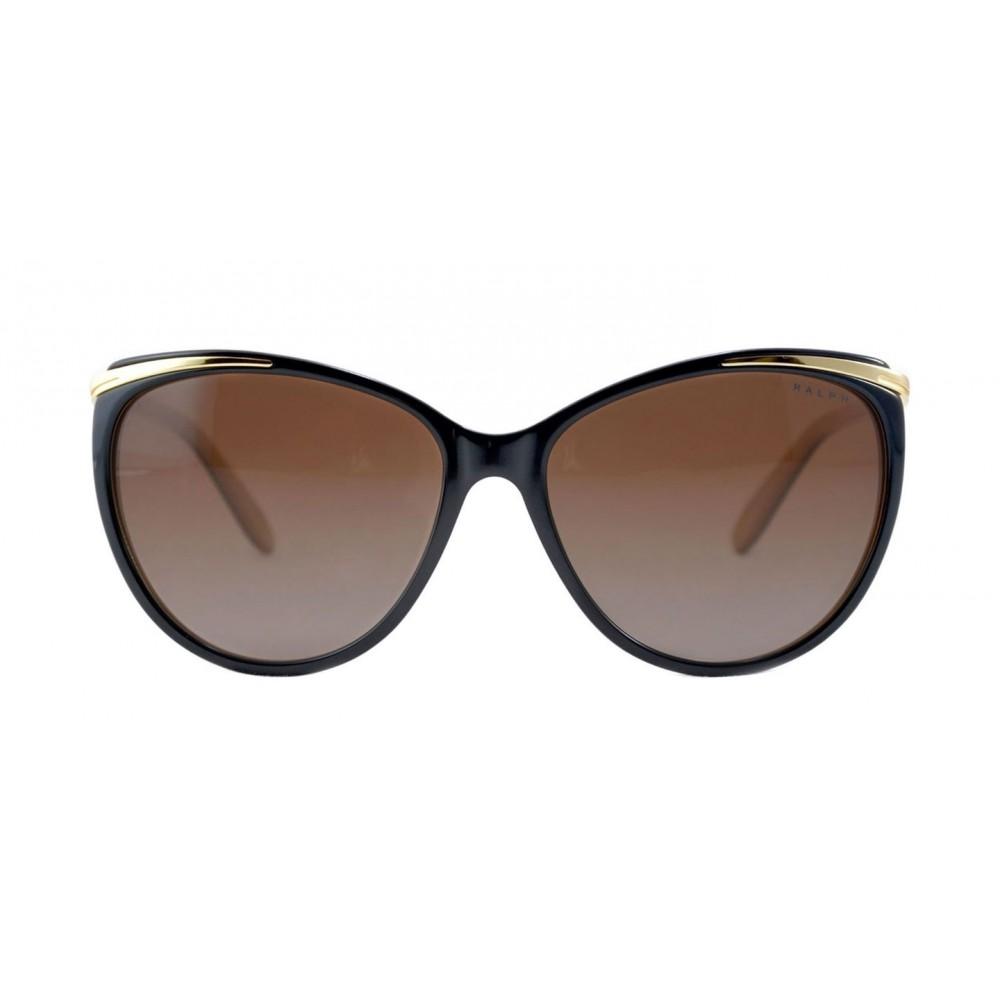 f07423b2e6 La montura RA 5150 de Ralph by Ralph Lauren está diseñada para mujeres,  está fabricada en plástico. Esta montura viene en color negro con un  detalle dorado ...