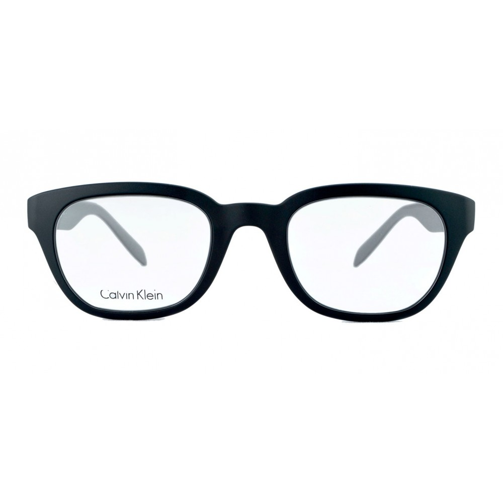 39d1334af5 Calvin Klein nos trae un diseño unisex espectacular! Montura en  acetato/zilonita de marco grueso color negro con patas color gris claro,  livianas.