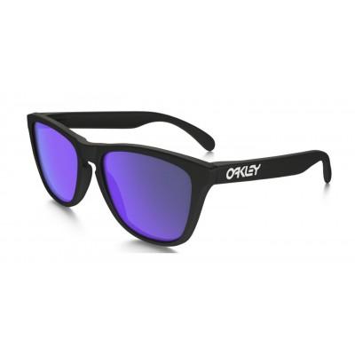 b1198ea3ea7 Oakley Frogskins OO9013-24-298 55-17 Black Matte Violet Iridium