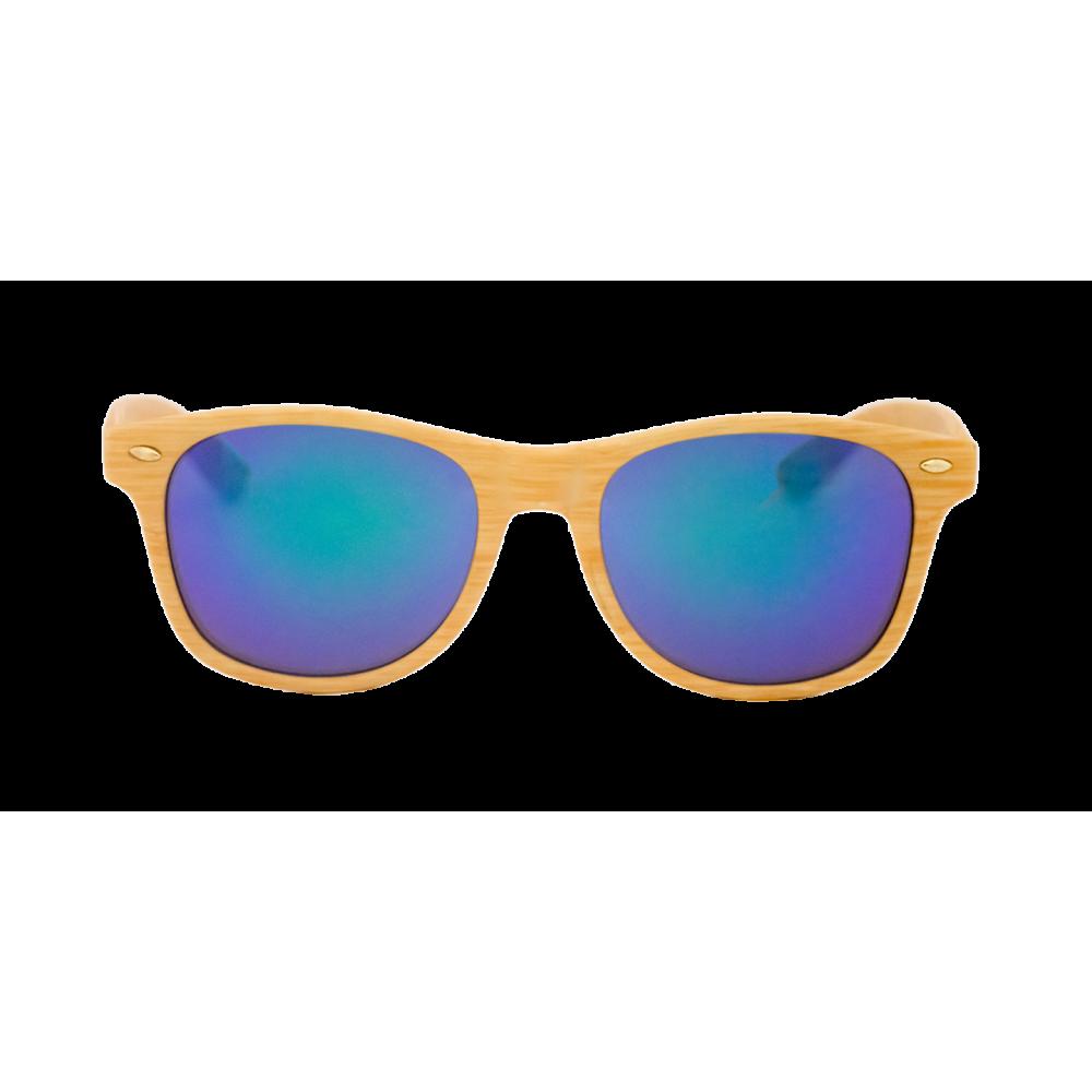 8dbdbaa06e Estas gafas clásicas tipo wayfarer, con montura plástica que viene en  diferentes tonos madera son ideales para mujeres y hombres que gusten de la  moda ...
