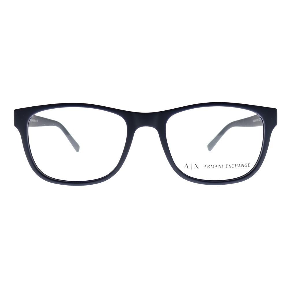 37999e8c0 Armani Exchange AX3027 te brinda moda y comodidad. Con su estilo cuadrado y  aro completo, estas gafas se ven bien en casi todos los estilos de rostro.