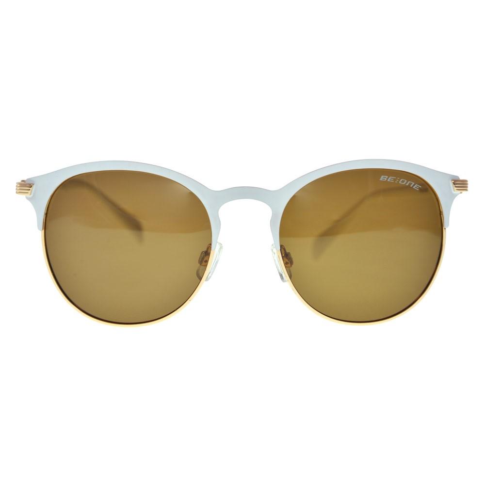 22ae95863b Estas gafas de sol BeOne metal / plástico polarizadas son intrigantes,  debido al estilo redondo de sus lentes combinado con el toque angular de la  montura, ...