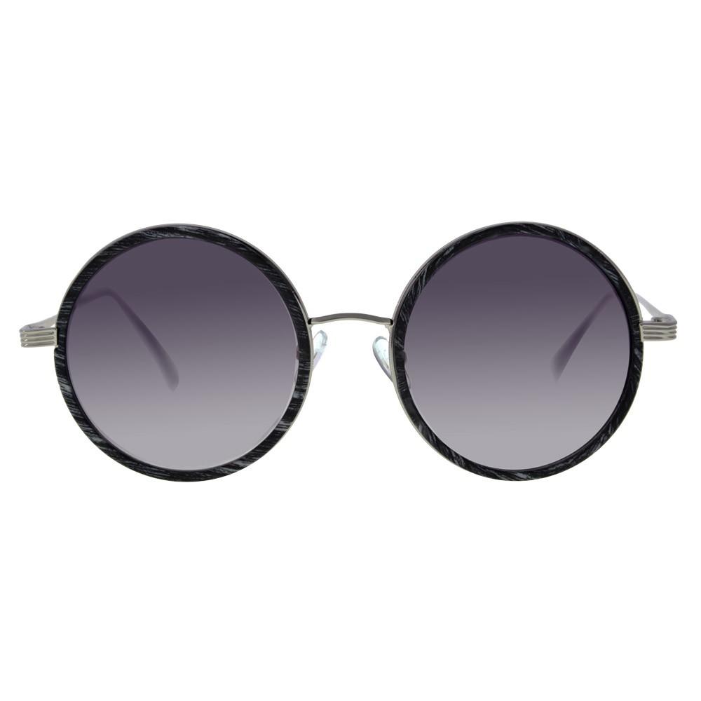 d11987c228 Las gafas redondas de Giselle son un diseño moderno redondo clásico de las  gafas de sol. Viene con un marco de metal grueso y lentes espejados con  estilo, ...
