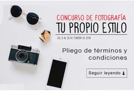 Concurso de fotografía - Tu propio estilo